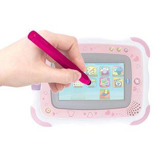 STYLET TÉLÉPHONE DURAGADGET Stylet Forme Crayon Rose Compatible ave