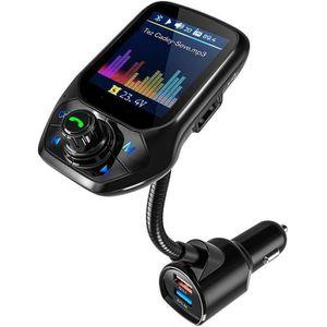 TRANSMETTEUR FM Transmetteur FM Bluetooth, Adaptateur Voiture avec