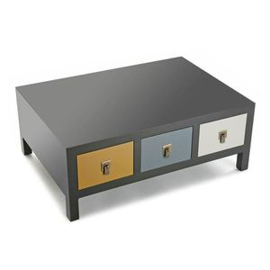 table basse coloree achat vente table basse coloree. Black Bedroom Furniture Sets. Home Design Ideas