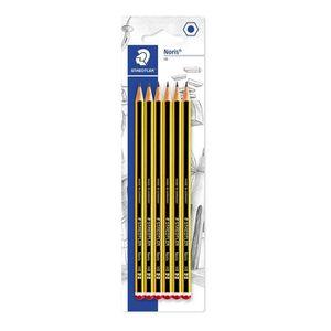 CRAYON GRAPHITE Staedtler Noris 120, Crayons à papier HB en bois d