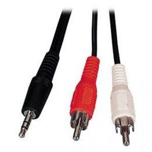 CÂBLE TV - VIDÉO - SON Cable Audio Jack 3,5mm Stéréo Male / 2 RCA Male…