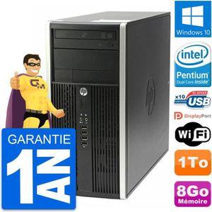 UNITÉ CENTRALE  PC Tour HP Compaq Pro 6200 CMT Intel G630 RAM 8Go