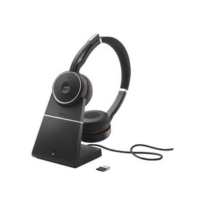 CASQUE - ÉCOUTEURS Jabra Evolve 75 MS Stereo Casque sur-oreille sans