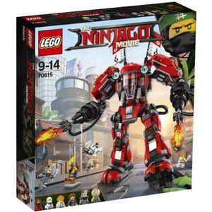 ASSEMBLAGE CONSTRUCTION LEGO® NINJAGO® LE FILM™ 70615 L'Armure de Feu