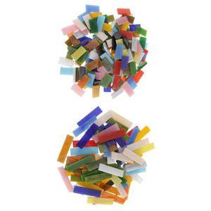 Tesselle TESSELLE - EMAUX - SMALT - PATE DE VERRE - GALET -