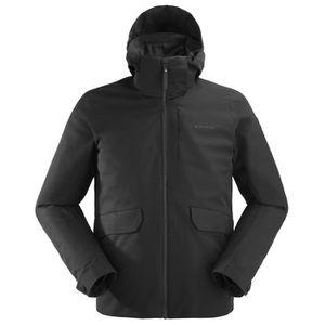 BLOUSON MANTEAU DE SPORT Veste De Ski Eider Midtown 3in1 Noir Homme