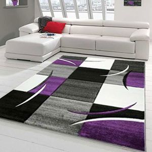 TAPIS Tapis DIAMOND COMMA violet Tapis Moderne 120 x 170