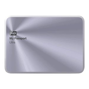 DISQUE DUR EXTERNE WD My Passport Ultra Metal Edition WDBTYH0010BS...