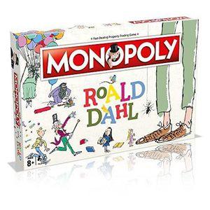 JEU SOCIÉTÉ - PLATEAU Winning Moves Jeu de société Monopoly Roald Dahl -