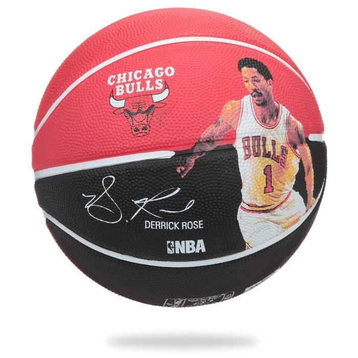 SPALDING Ballon Basket-ball NBA Player DERRICK ROSE BKT