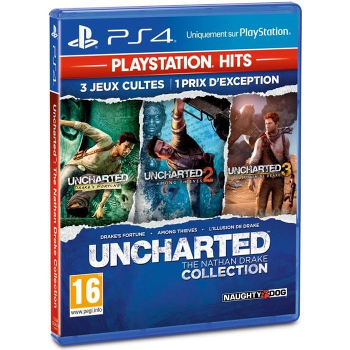 Uncharted : The Nathan Drake Collection PlayStation Hits Jeu PS4
