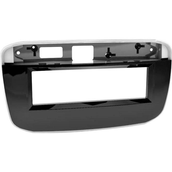 Adaptateur de façade 1-DIN Fiat Punto EVO 2009 > noir piano