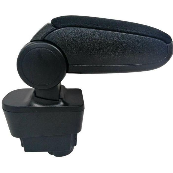 Accoudoir Fiat Grande Punto Evo (2005-2019) / Linea (2007-2014) Tissu Noir