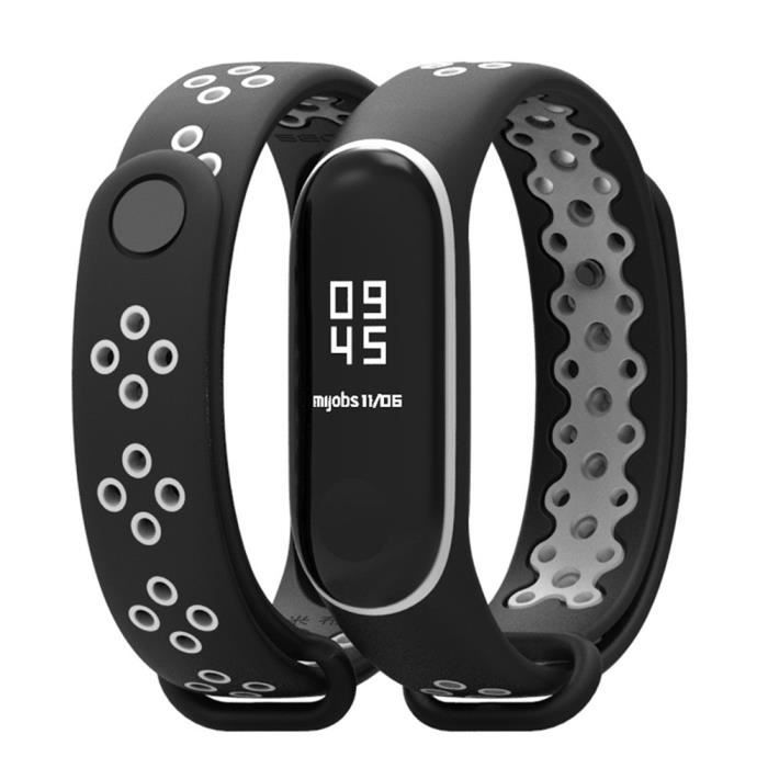Remplacement durable TPU Bracelet anti-off Wristband Sport pour Xiaomi Mi Band 3 YDSH313