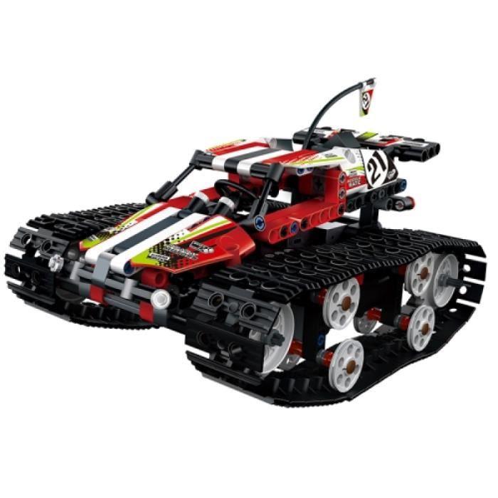 Vehicule A Construire - Engin Terrestre A Construire - MoFun 13023 bricolage voiture télécommandée à chenilles électrique à grande