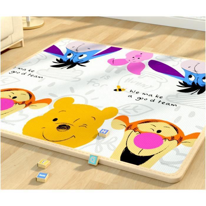 Tapis enfants bébé de sol en mousse [200x180 cm]Tapis de Jeu Ramper Zone pour Enfants Coussin d'escalade Pliable