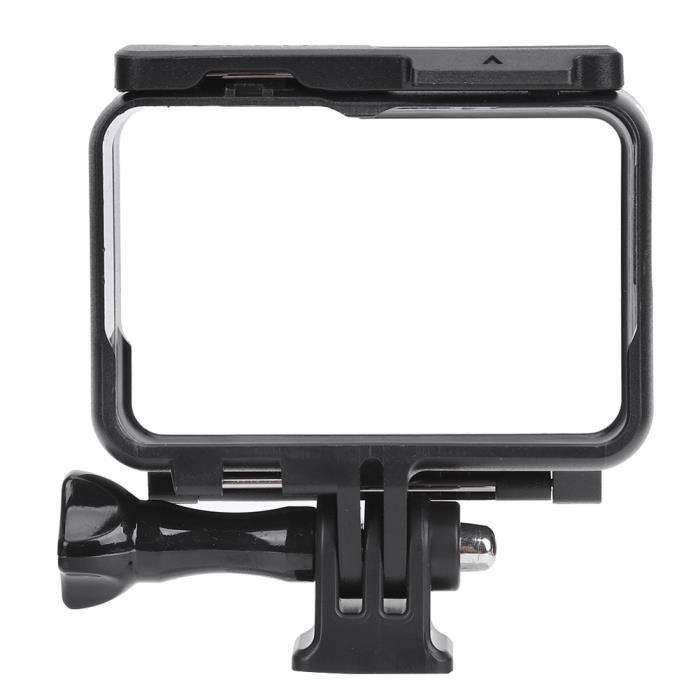 Cadre Protecteur de Caméra de Mouvement Portable Léger Noir ABS pour Insta 360 One R Caméras de Sport-XIL