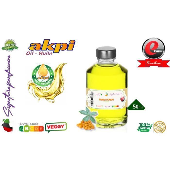 Huile d'AKPI - Qualité supérieure - 50 ml