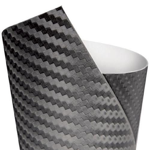 Film interieur Carbone noir 152x20 cm Autocolla...