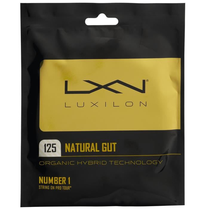 Cordage Luxilon Natural Gut 12m - Couleur:Naturel Jauge:130