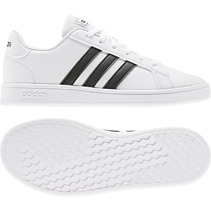 Chaussures de tennis kid adidas Grand Court