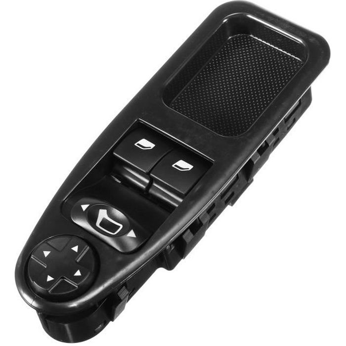 Interrupteur Commande Leve Vitre Avant LHD Pour Peugeot Expert Fiat Scudo Citroen 07-16