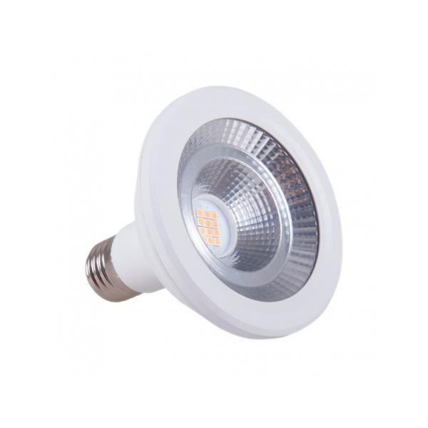 Ampoule LED PAR30 E27 12W équivalent 100W Vision-EL - Blanc Neutre (4000K)