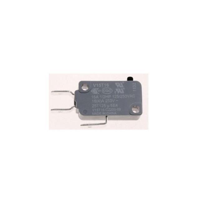 Whirlpool 480120101578 Interrupteur sécurité porte micro-ondes