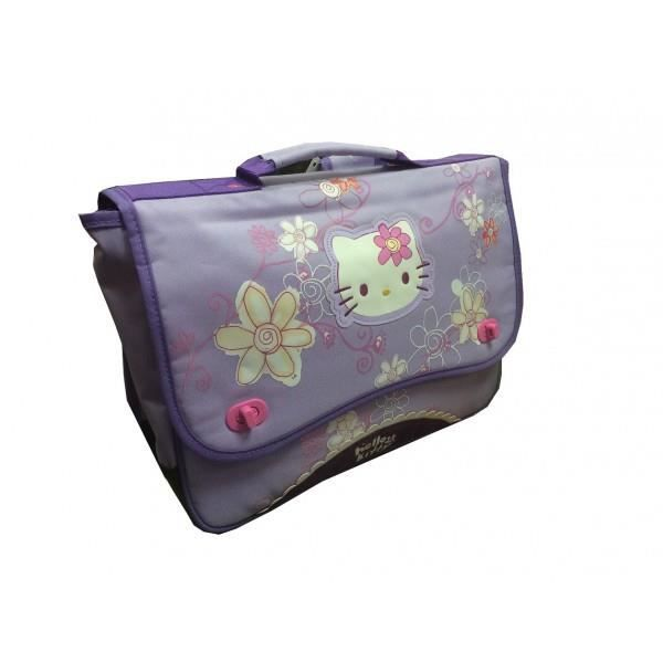 SCOLAIRE - Cartable - HELLO KITTY VIOLET