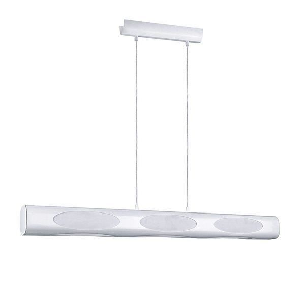 plafonnier suspension blanc barre luminaire suspendu de