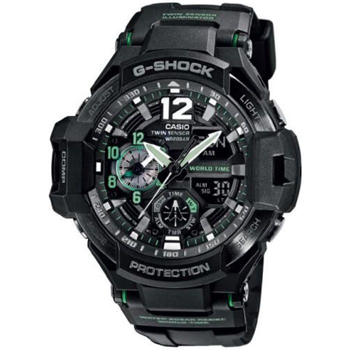 Chronograph 1100 Casio 1a3er Homme Montre Shock G Ga MSqLzpUVG