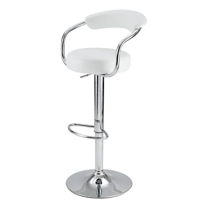 tabouret de bar avec accoudoirs blanc lot de achat vente tabouret de bar cdiscount. Black Bedroom Furniture Sets. Home Design Ideas