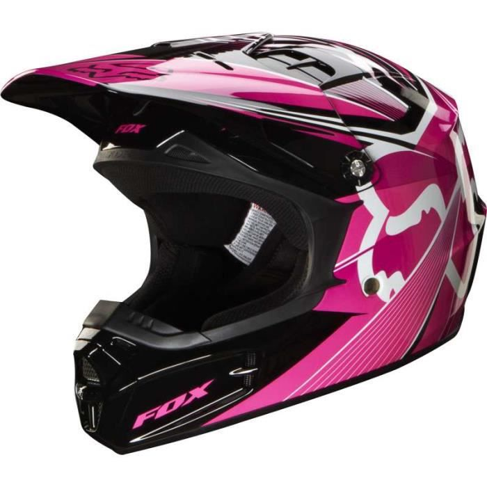 casque moto cross enfant fox v1 achat vente casque. Black Bedroom Furniture Sets. Home Design Ideas