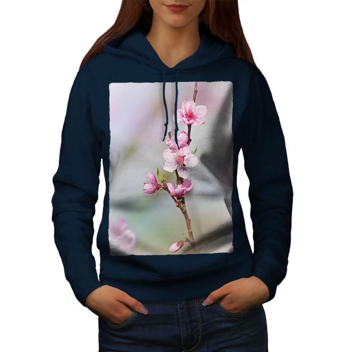 Sakura Arbre Fleur Japonais Women Sweat à capuche | Wellcoda