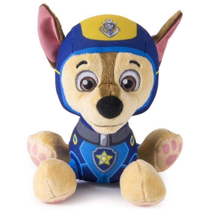 PELUCHE Paw Patrol – Sea Patrol – Pup Pals – Chase – Petit