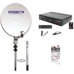 ANTENNE AUTO-MOTO ANTARION - Kit Antenne Parabole Satellite Manuelle