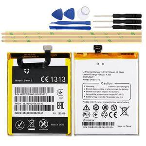 Batterie téléphone Nouvelle version 2700mAh Batterie Pour Wileyfox sw