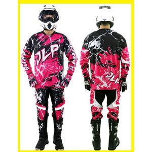 ensemble pantalon maillot gants moto cross quad vtt bmx mtb jlp racing rose xl achat vente. Black Bedroom Furniture Sets. Home Design Ideas