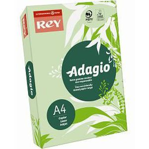 PAPIER IMPRIMANTE Papier A4 Adagio Rey 160g couleur vert vif