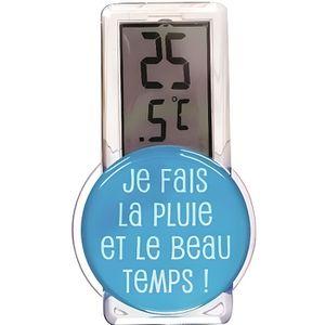 THERMOMÈTRE - BAROMÈTRE Thermomètre extérieur - Coloris aléatoire