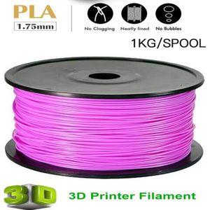 FIL POUR IMPRIMANTE 3D Filament d'imprimante 3D PLA 1.75mm 1KG nouveau ba