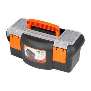 DESSERTE CHANTIER Boîte à outils plastique - Longueur 360 mm