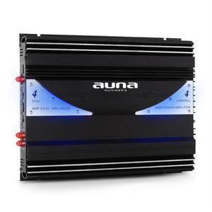 PACK CAR AUDIO Auna ampli auto car 4 3 2 canaux bridgeable sono 2