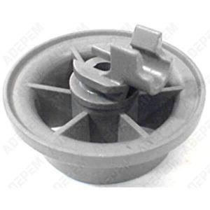 PIÈCE LAVAGE-SÉCHAGE  Roulette panier inferieur pour Lave-vaisselle Far,