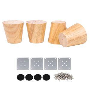 canapés 4x bloc de bois meubles jambes//pieds pour canapés chaises et tabourets M8