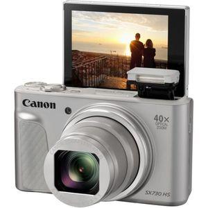 APPAREIL PHOTO COMPACT CANON SX730HS Argent - Appareil photo Compact 20,3