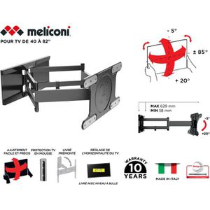 FIXATION - SUPPORT TV MELICONI 480870 Support mural TV Spécial OLED SDRP