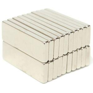 AIMANTS - MAGNETS Lot de 20 N50 Aimants Néodyme Bloc Magnétique - Pu