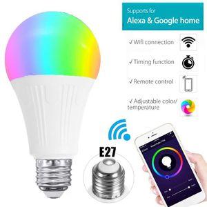 AMPOULE INTELLIGENTE NEUFU Smart Ampoule E27 7W Sans Fil WiFi Lampe Lum