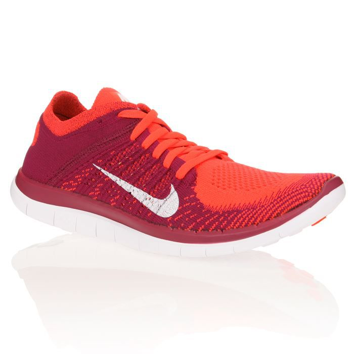NIKE Chaussures running Free Run 4,0 Flyknit Femme Achat / Vente